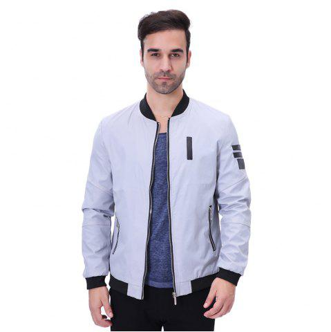 Discount Men'S Zipper Jacket Decorations
