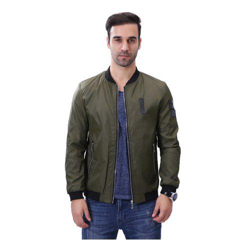 Hot Men'S Zipper Jacket Decorations