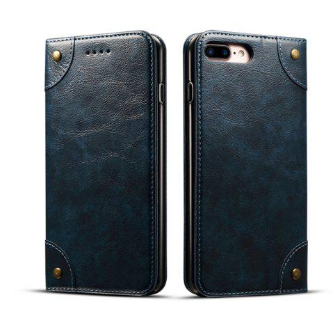 Affordable Baroque Texture Leather Flip Stand Wallet Case for iPhone 7 Plus / 8 Plus