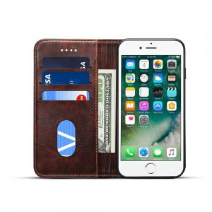 Baroque Texture Leather Flip Stand Wallet Case for iphone 6 Plus / 6s Plus -