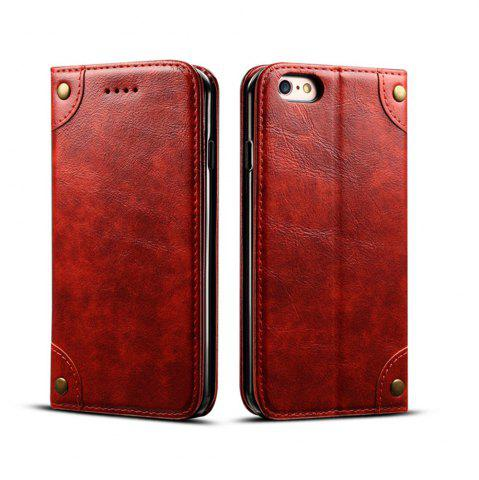 Outfits Baroque Texture Leather Flip Stand Wallet Case for iphone 6 Plus / 6s Plus