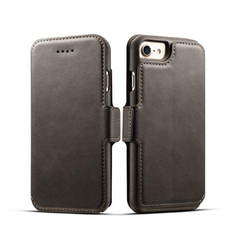 Shop Premium Cow Texture Leather Magnetic 2 in 1 Wallet Case for iPhone 6 Plus / 6s Plus