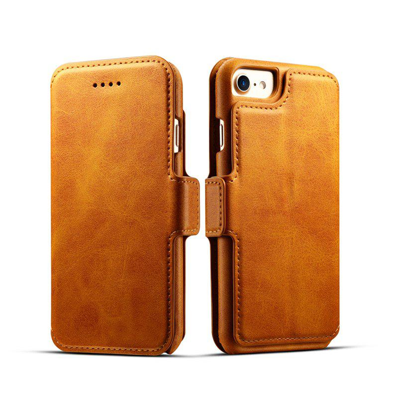 Chic Premium Cow Texture Leather Magnetic 2 in 1 Wallet Case for iPhone 6 Plus / 6s Plus