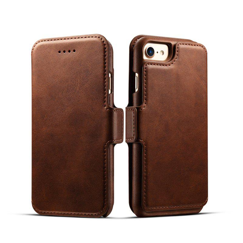 Outfits Premium Cow Texture Leather Magnetic 2 in 1 Wallet Case for iPhone 6 Plus / 6s Plus
