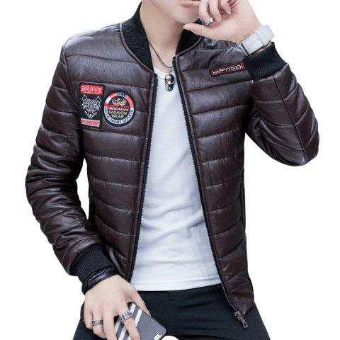 Outfits Men's Fashion Leather Jacket