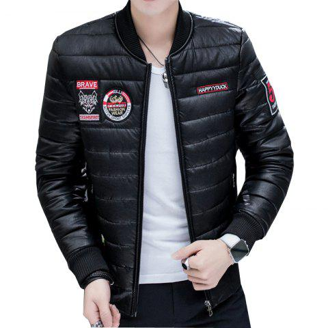 New Men's Fashion Leather Jacket