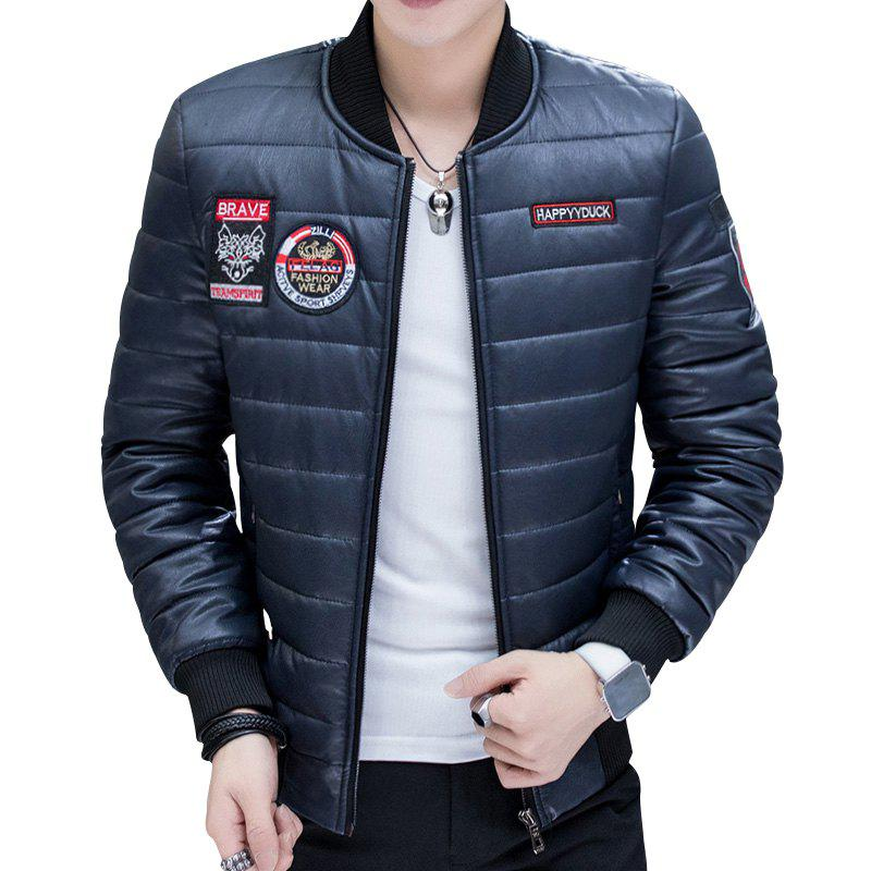 Trendy Men's Fashion Leather Jacket