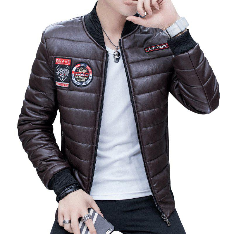 Online Men's Fashion Leather Jacket