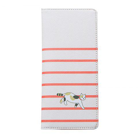 Latest Cartoon Lady Wallet Travel Documents Passport Package Card Package