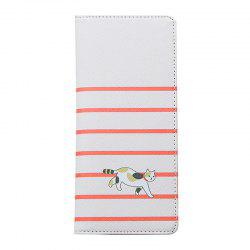 Cartoon Lady Wallet Travel Documents Passport Package Card Package -