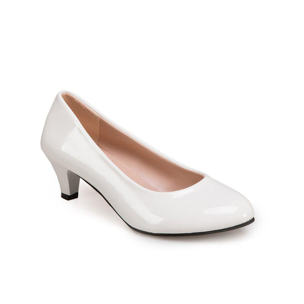 Fashion Women Spring Single Simple OL Sexy Pointed Thin Fine Low Heel Shoes