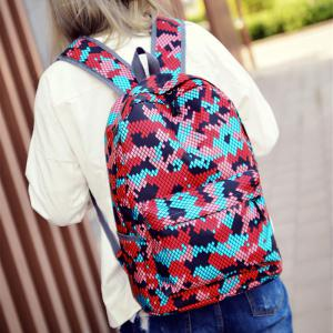 Fashion Hongjing assortis couleur décontracté Sporting Backpack -