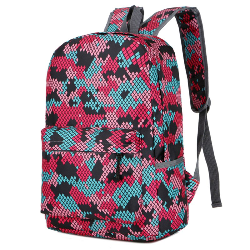 Affordable Fashion Hongjing Matching Color Casual Sporting Backpack