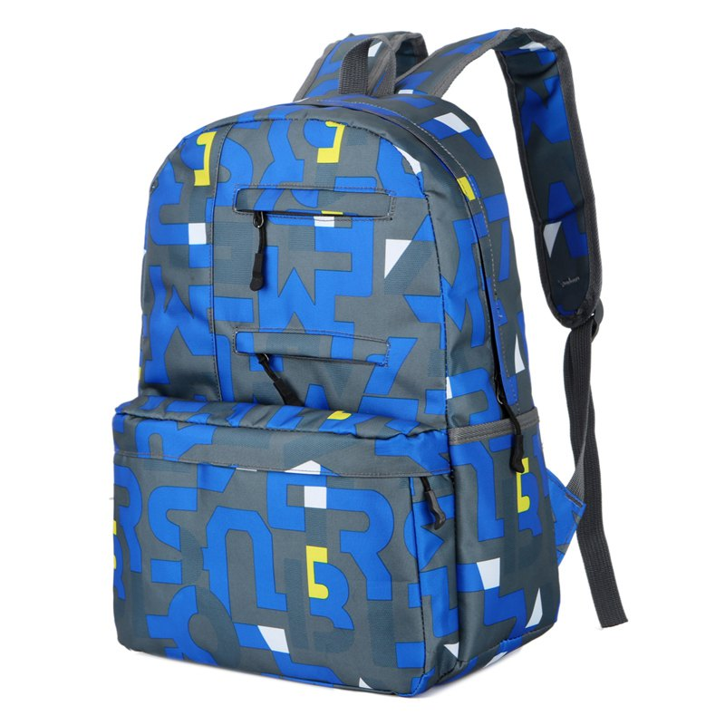 Best HongJing Fashion Matching Color Large Space Backpack