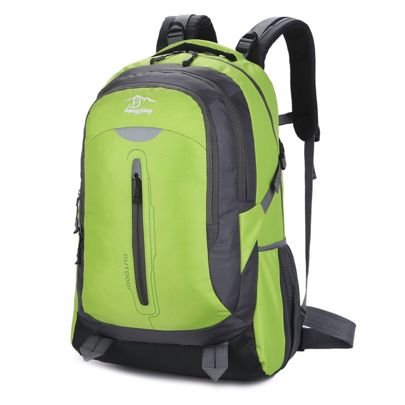 Cheap Hongjing New Stylish Multiple Zipper Casual Sporting Backpack
