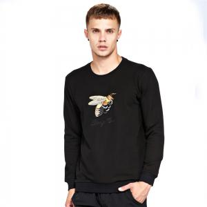 Men's Sweatshirt Casual Embroidery Chic All Match Sweatshirt -