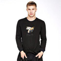Sweat-shirt pour homme Casual Broderie Chic All Sweat-shirt -