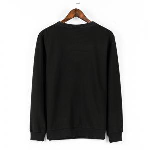 Sweatshirt Casual Comfy Chic broderie à manches longues Sweatshirt -
