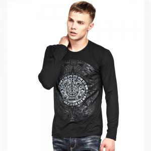 Men's T Shirt Color Block Print All Match Chic T Shirt -
