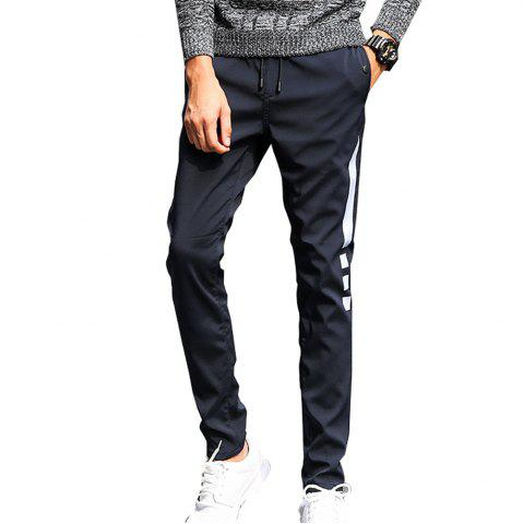 Online Men's Casual Pants Warm Comfy Fashion Thickened All Match Pants