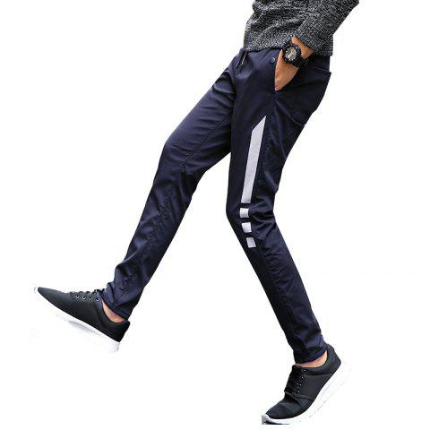 Trendy Men's Casual Pants Warm Comfy Fashion Thickened All Match Pants