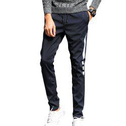 Men's Casual Pants Warm Comfy Fashion Thickened All Match Pants -