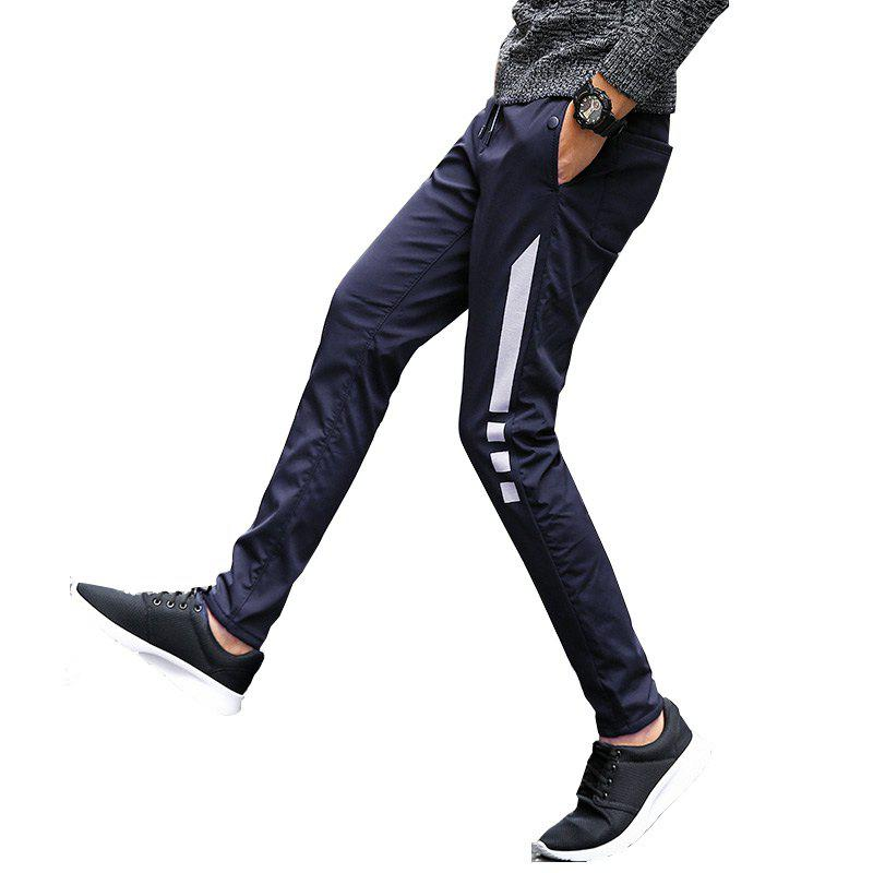 Hot Men's Casual Pants Warm Comfy Fashion Thickened All Match Pants
