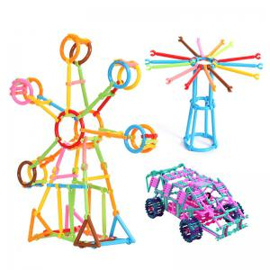 Magic Assembling  Stick  Kindergarten Early Childhood Education Game  Cleverness Building Blocks Toy -