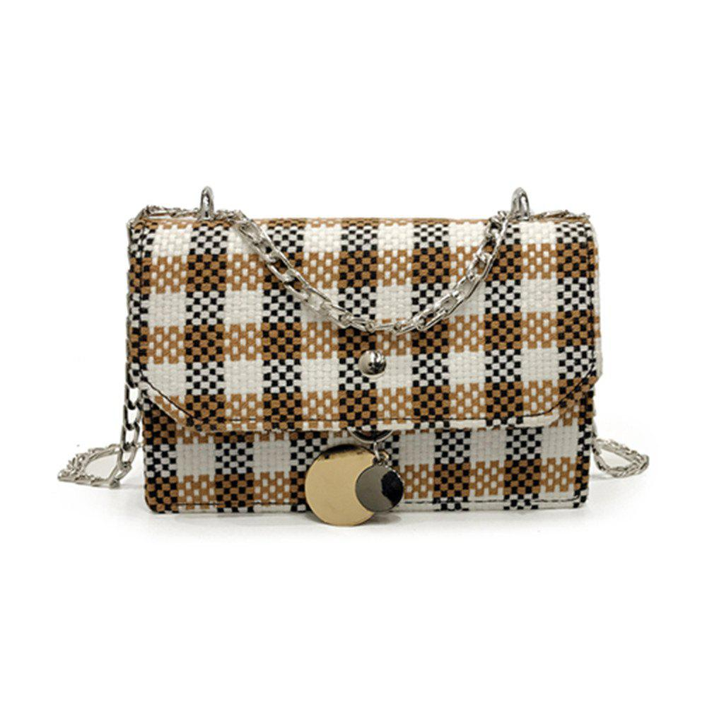 Sale New Lattice Messenger Small Square Package