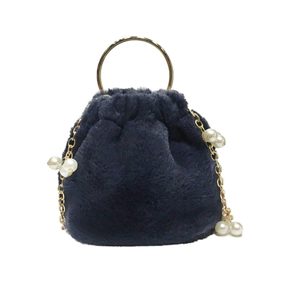 Hot Cute Bucket Bag Beads Handbag Shoulder Messenger Bag