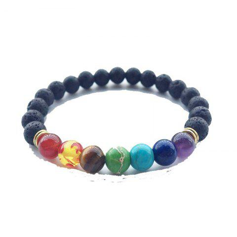 Sale Transhipped Pearl River Seven Color Crystal Bracelet Yoga Energy Chain Fashion Ornaments