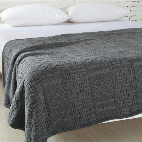 Fancy New Products With Thick Warm Cotton Knitted Wool Casual Blankets