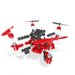 Quadcopter DIY Building Blocks Assembled Drone Mini Remote Control Aircraft -