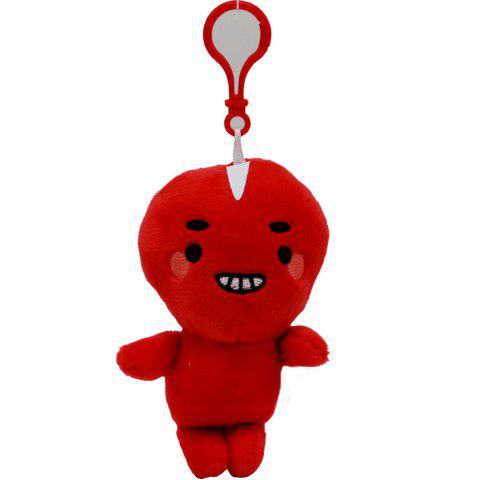 Outfits 10CM Cartoon Compact Super Soft Plush Doll