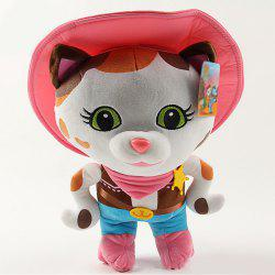 25CM Cute Female Police Chief Cartoon Stuffed Toy Doll -