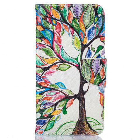 Affordable Energy Tree Pattern Luxury Style PU Leather Mobile Phone Case Flip Cover for iPhone 6 / 6s