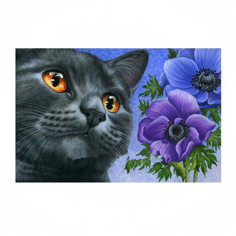 Sale Naiyue 7192 Black Cat Print Draw Diamond Drawing