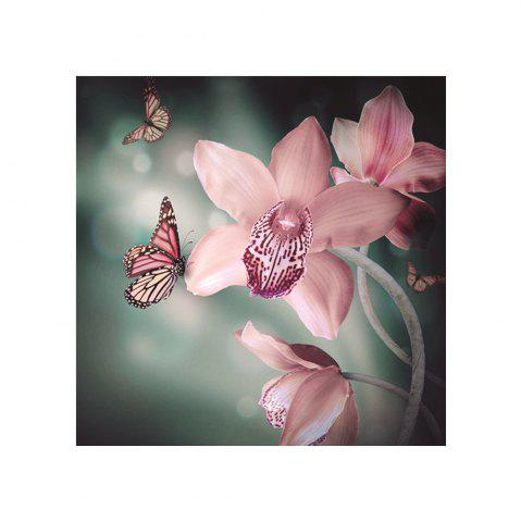 Shop Naiyue 7217  Colorful Butterfly Flowers Print Draw Diamond Drawing