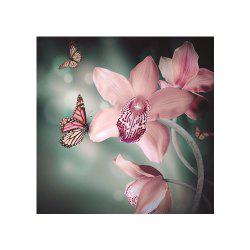 Naiyue 7217  Colorful Butterfly Flowers Print Draw Diamond Drawing -