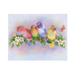 Naiyue 7219 Parrot Group Print Draw Diamond Drawing -