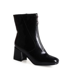 Shoe Miss Bb17-22 High Heel Square Head Zipper Fashion Trend Martin Boots -