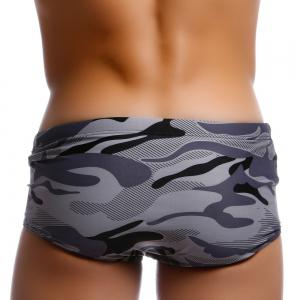 Taddlee Camo Men Swimwear Swimsuits Low Waist Sexy Men's Swimming Boxers Briefs Bikini Surf Board Trunks -