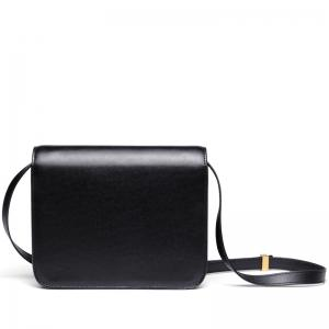 SITIYA Small Square Leather Crossbody Bag Women Shoulder Purse -