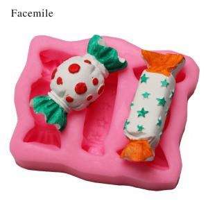 Facemile Christmas 3D Gift Silicone Mold Fondant Cake Decorating Tool Chocolate Candy Jello Biscuit Cookie Baking Bakeware Mold -