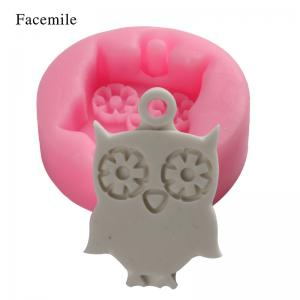 Facemile Owl Shape 3D Silicone Cake Mold Cartoon Chocolate Candy Cake Tools Soap Mold Halloween Fondant Cake Decoration -