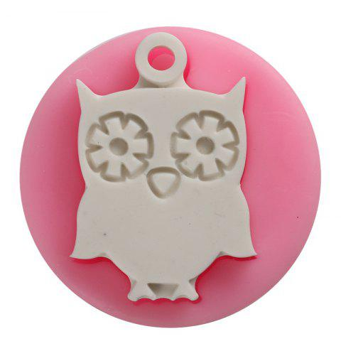 Trendy Facemile Owl Shape 3D Silicone Cake Mold Cartoon Chocolate Candy Cake Tools Soap Mold Halloween Fondant Cake Decoration