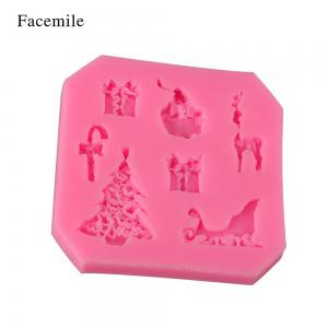 Facemile Cake Decorating Tools Silicone Mold Cake Tools Mold Christmas Paste Fondant Wedding Party Kitchen Accessories -
