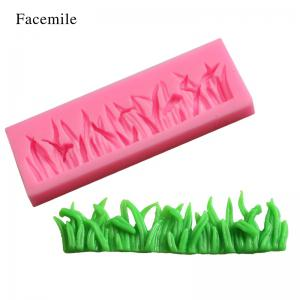 Facemile Silicone Grasses Lace Shape Pudding Muffin Cake Jelly Mold Fondant Wedding Bakeware Cake Decoration Tool 50-400 -