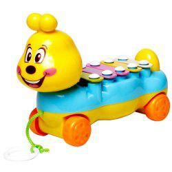 Children's Colorful Caterpillars Hand Knock Tractors Animals early Musical Instruments The Enlightenment Educational Mus -