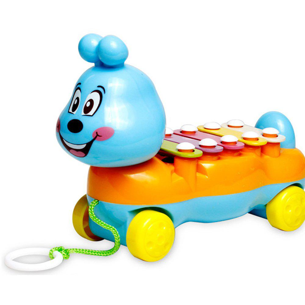 Outfit Children's Colorful Caterpillars Hand Knock Tractors Animals early Musical Instruments The Enlightenment Educational Mus